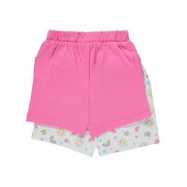 2 Pack Assorted Sunshine Watermelon Shorts