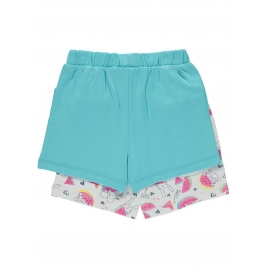 2 Pack Assorted Watermelon Shorts