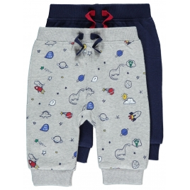 2 Pack Assorted Joggers