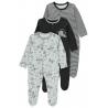 Sleepsuits (3 pcs.)