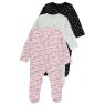 Sleepsuits (3 pcs.)