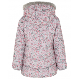 Floral Shower Resistant Coat