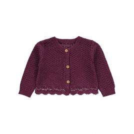 Crochet Trim Cardigan
