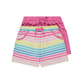2 Pack Assorted Jersey Shorts