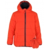 Hooded Shower Resistant Padded Jacket with Mittens